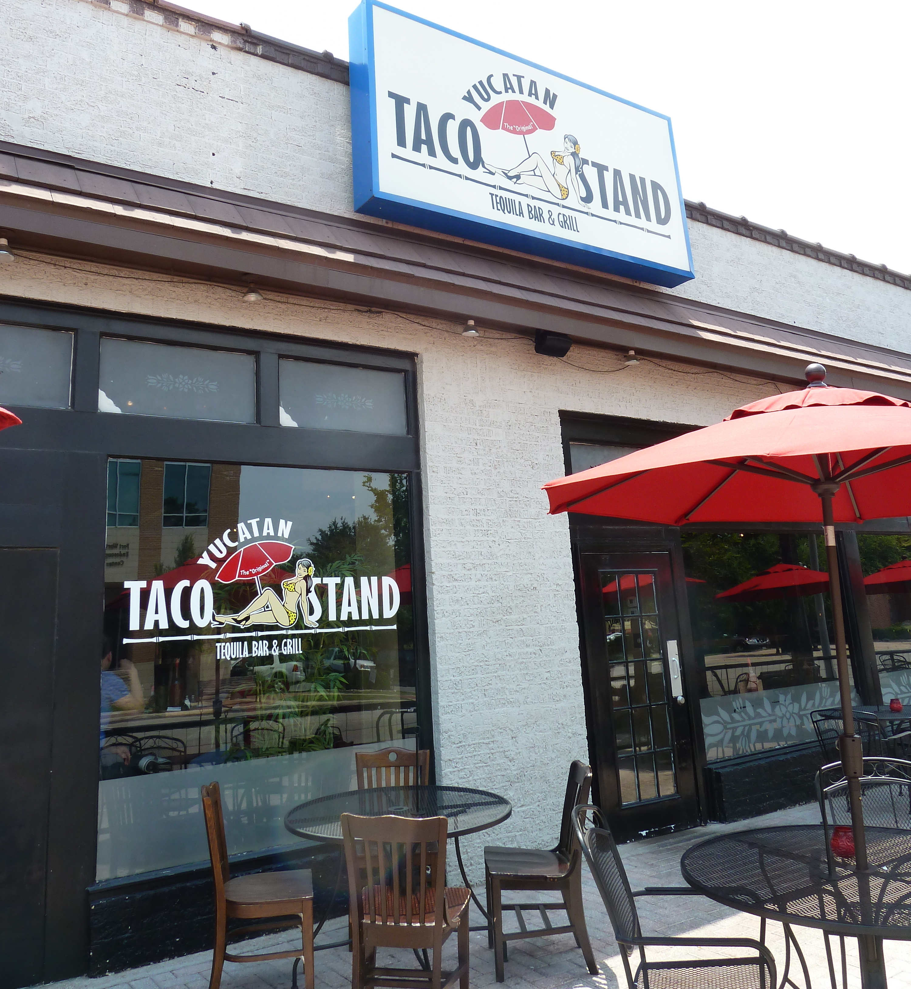 Yucatan taco stand and tequila bar