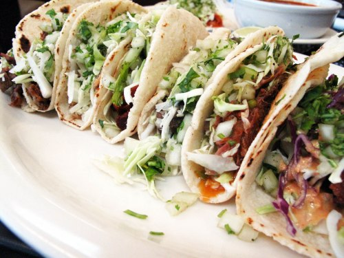 Selection of Tacos