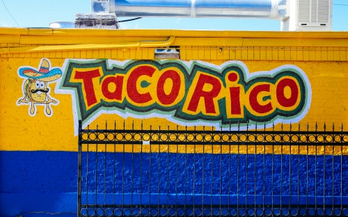 Taco Rico, photo by Catherine Downes