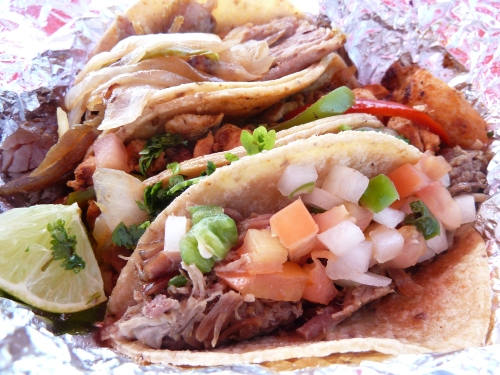 Taco Stop's lunch options lackluster at first, but not they're the best in Design District.