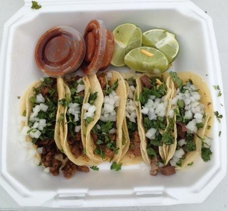 A taco box.