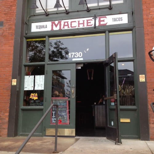Machete Tequila + Tacos second location is across from the newly restored Denver Union Station.