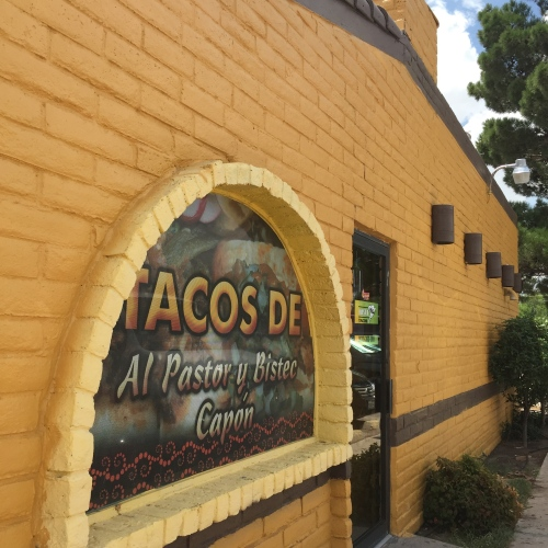 Twister Tacos in Odessa is housed in a former fast-food joint building.